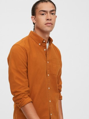 Gap Oxford Shirt in Untucked Fit