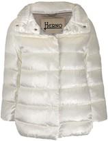 Herno shiny padded puffer jacket