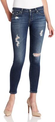 AG Jeans Women's Legging Ankle Jean in 7 Year Break 30