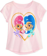Nickelodeon Nickelodeon's Shimmer and Shine Cotton T-Shirt, Toddler and Little Girls (2T-6X)