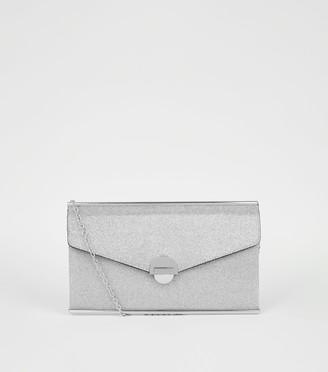 New Look Glitter Clutch Bag