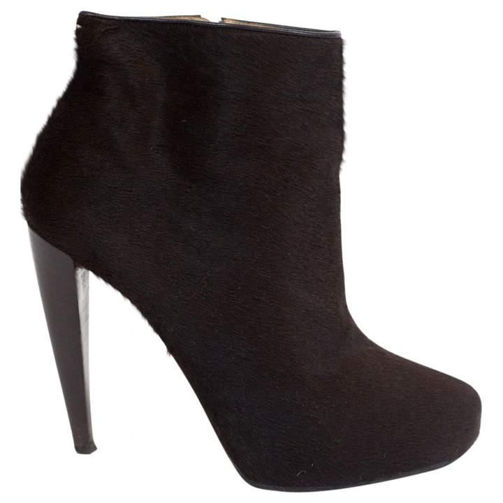 Maison Margiela Pony-style calfskin ankle boots