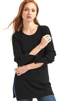 Gap Merino wool blend slit tunic