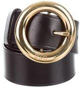 Dolce & Gabbana Wide Leather Belt