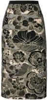 Antonio Marras printed pencil skirt