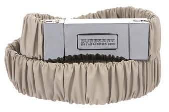 Burberry Elastic Waist Belt