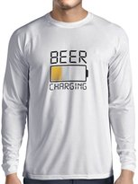 "lepni.me Long sleeve t shirt men ""I Need more Beer"", gifts for the beer lovers"