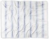 "Deny Designs Holli Zollinger Aegean Bold Stripe Woven Throw Blanket - 60"" x 50"""
