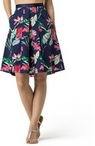 Tommy Hilfiger Final Sale- Hibiscus A-Line Skirt