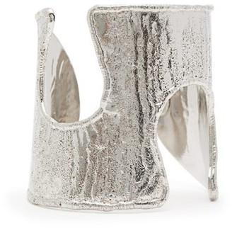 Sylvia Toledano - Hammered Metal Cuff - Womens - Silver
