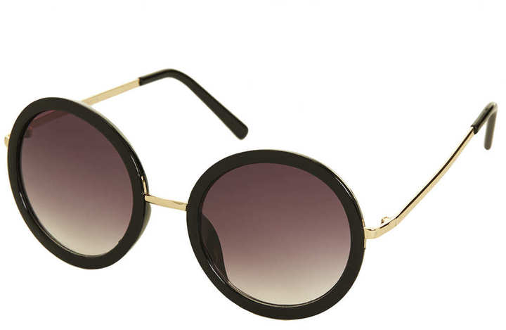 Topshop 60s Oval Sunglasses