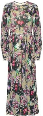 Rotate by Birger Christensen Floral maxi dress