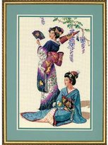 Dimensions Needlecrafts Counted Cross Stitch, Jewels of The Orient