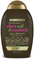 OGX Silicone-Free Shea Soft and Smooth Shampoo 385ml