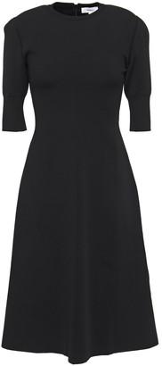 CASASOLA Flared Stretch-knit Dress