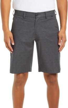 Travis Mathew Connected Stripe Flat Front Shorts
