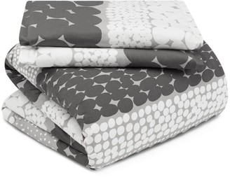 Marimekko Jurmo 2-Piece Cotton Duvet Cover Set