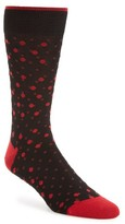 Bugatchi Men's Polka Dot Socks