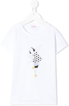 Il Gufo graphic print T-shirt