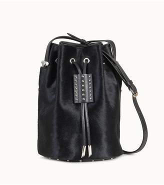 Tod's Tods Bucket Bag Small In Ponyskin-Effect Leather