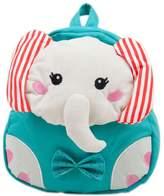 Panda Superstore Blue Elephant Toddler Backpack Infant Lovely Knapsack Cute Baby Bag 1-4Y