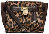Michael Kors Hamilton Traveler Leopard Hair Calf Messenger