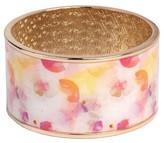 Sam & Libby Women's Large Bangle Bracelet - Gold/Pink
