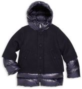 ADD Toddler's, Little Girl's & Girl's Layered Down Jacket