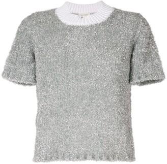 DELPOZO Lurex Knitted Jumper