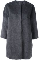 Giambattista Valli wide sleeve coat - women - Silk/Llama/Wool - 40