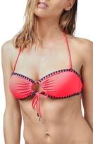 Topshop Blanket Stitch Bandeau Bikini Top