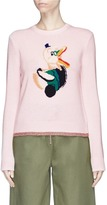 Coach Duck intarsia sweater