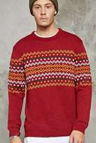 Forever 21 FOREVER 21+ Zigzag Pattern Sweater