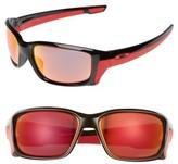 Oakley Women's Straightlink 61Mm Polarized Sunglasses - Black/ Prizm P