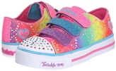 Skechers Twinkle Toes - Shuffles 10612L Lights Girls Shoes