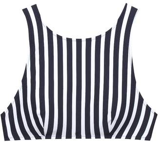 Araks Joy striped bikini top