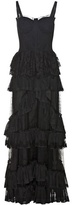 Dolce & Gabbana Sleeveless ruffled gown