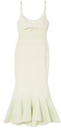 David Koma Cutout Stretch-crepe Midi Dress
