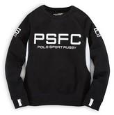 Ralph Lauren Boys' Polo Sport Pieced Crew Neck Sweatshirt - Sizes S-XL