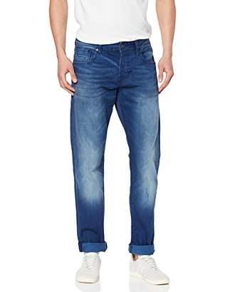 Scotch & Soda Men's Nos-Ralston-Winter Spirit Slim (Narrow Leg), Blue, 36 W/30 L