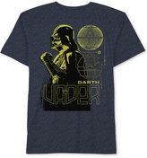 Star Wars Darth Vader Blue Print T-Shirt, Big Boys (8-20)
