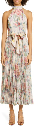 Zimmermann Wavelength Sunray Midi Dress
