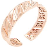 Roberto Coin Rose Gold-Plated Silver 5 Thirteen Small Bangle Bracelet