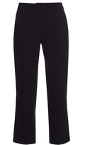 Goat Venice straight-leg cropped trousers
