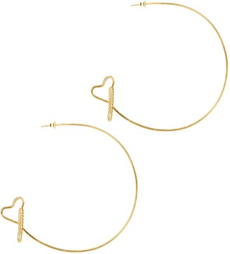 Amorcito Orbit Hoop Earrings
