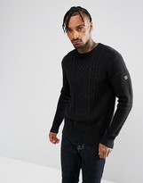 G Star G-Star Affni Cable Knit Sweater