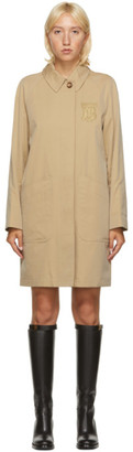Burberry Beige Sansend Trench Coat