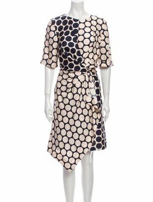 Grey By Jason Wu Silk Knee-Length Dress Grey