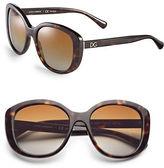 Dolce & Gabbana 55mm Square Sunglasses