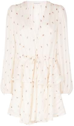 Shona Joy Sedgwick Drawstring Mini Dress